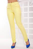 Женские брюки из костюмной ткани