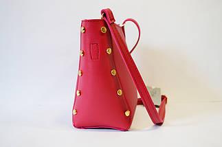 Малиновая женская сумка Voila, фото 3