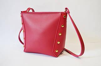 Малиновая женская сумка Voila, фото 2