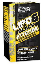 Жиросжигатель Nutrex Lipo-6 Intense Ultra Concentrate 60 caps