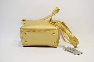 Золотистая женская сумка Voila, фото 3