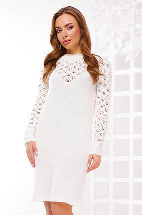 Стильне сукню виконано з якісної пряжі, фото 2