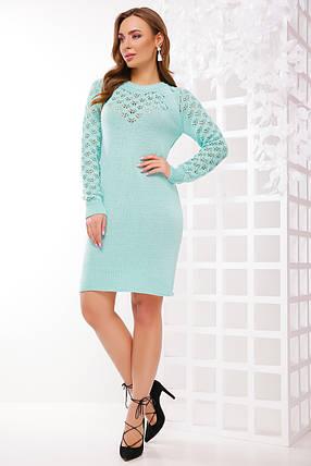Стильное платье выполнено из качественной пряжи, фото 2