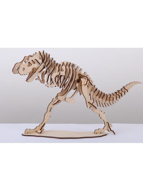 Большой 3D пазл Тираннозавр 186/93