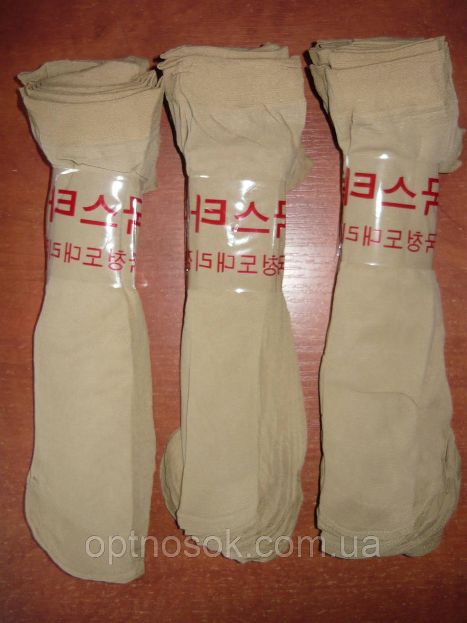 Капроновые женские носки. Без тормозов. Тон № 8. Беж светлый.