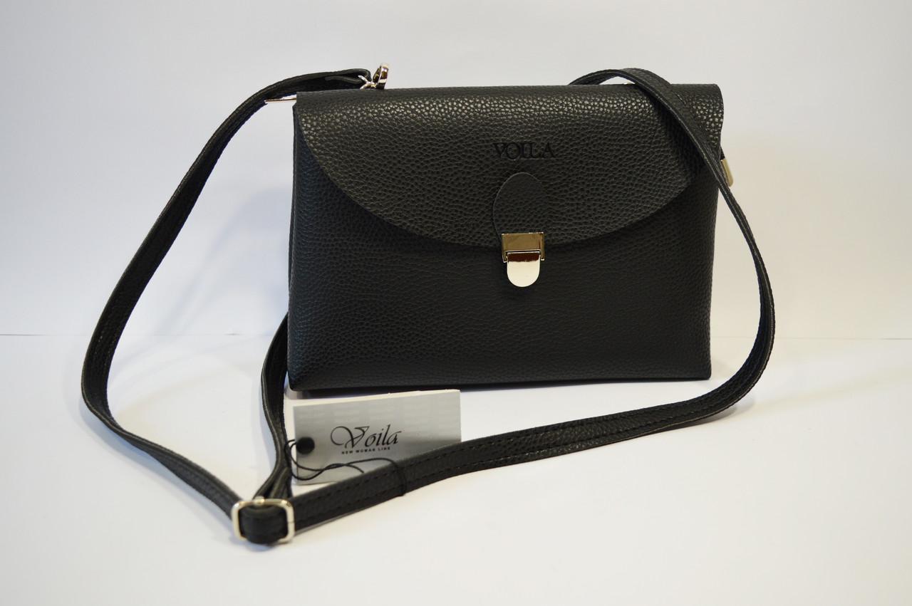 Черная повседневная сумка Voila