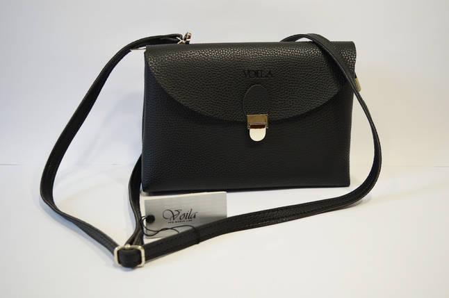 Черная повседневная сумка Voila, фото 2