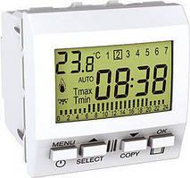 Терморегулятор многофункциональный Белый Unica Schneider, MGU3.505.18