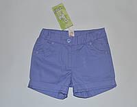 Шорты для девочки, цвет сиреневый,ТМ Бэмби, 128(р) 6-7 лет, фото 1