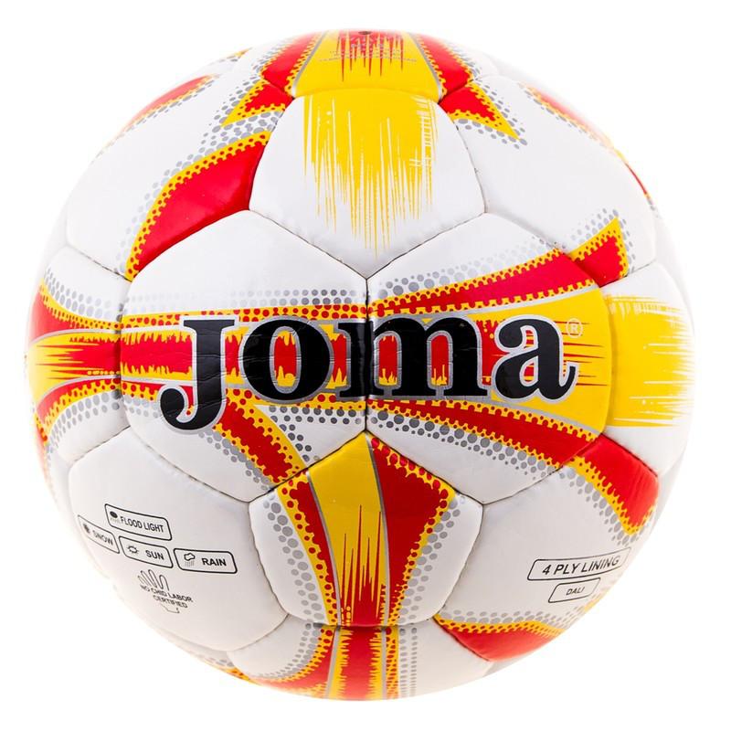 Мяч футбольный DXN White JM-4, оранжевый