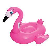 Плотик надувной детский розовый Фламинго  BestWay (41103)