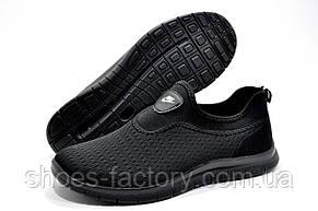 Летние мужские кроссовки в стиле Nike Free Run 3.0 Slip On, Black, фото 3