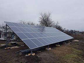 Сетевая солнечная электростанция 30 кВт 3