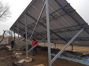 Сетевая солнечная электростанция 30 кВт 4