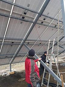 Сетевая солнечная электростанция 30 кВт 5