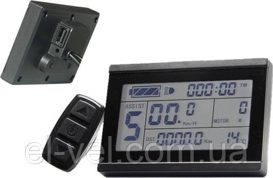 Дисплей LCD-3  + USB  24; 36; 48В