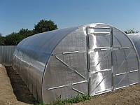 Теплица с сотовым поликарбонатом 4мм, 3* 6 *2м Оцинкованный Омега профиль