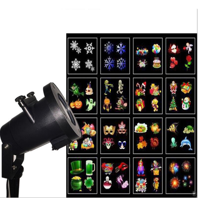 Светодиодный уличный проектор Ecolend 357 со сменными фильтрами