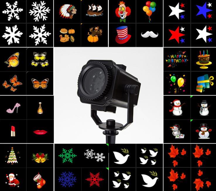 Светодиодный уличный проектор Ecolend 358 со сменными фильтрами