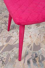 Стул Valencia (Валенсия) текстиль цвета фуксия, стиль модерн, фото 3