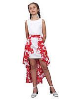 Платье-трансформер нарядное детское летнее М -1065 рост  140 146 152 158 164 170, фото 1