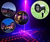 Уличный лазерный проектор рисунки фейерверки красный синий Ecolend 31 3