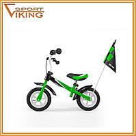 Беговел, велобег Balance Bike Dragon Delux с тормозом Milly Mally Разные цвета