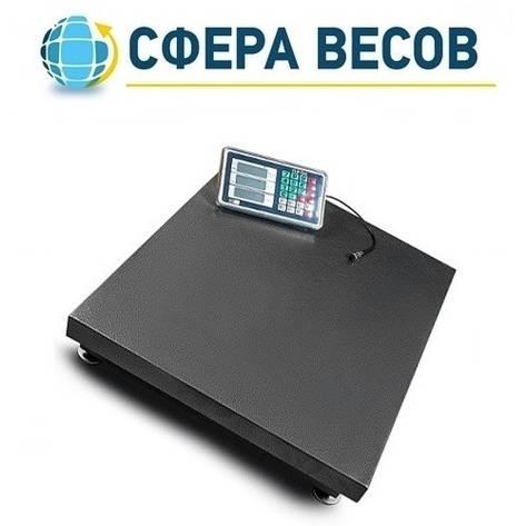 Весы товарные (торговые) ПРОК ВТ-300-УР (300 кг, 450*600), фото 2