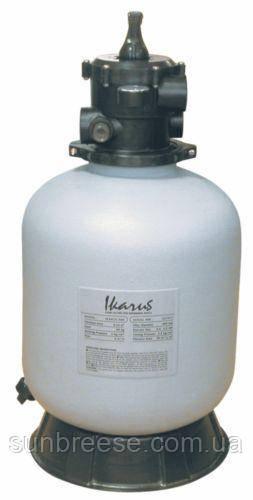 Фильтр для бассейнов песочный Ikarus произв-ть 10 м³/ч