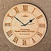 Деревянные часы с текстами из Священного Писания.