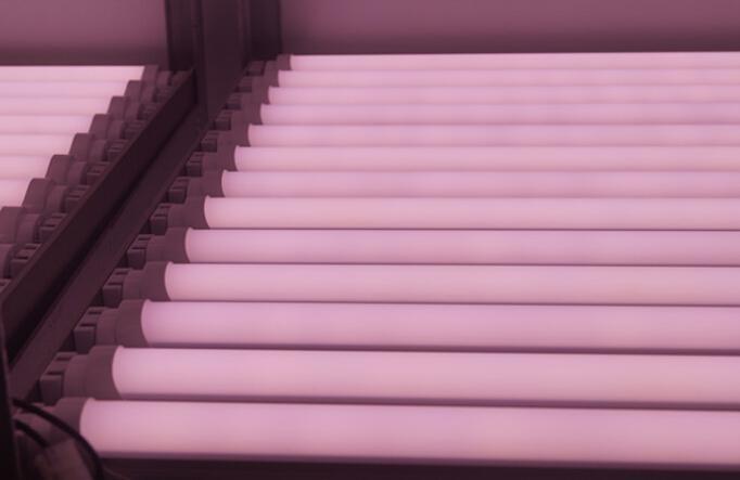 Светодиодная лампа Т8 900мм 14W Розовая (для мясных витрин)