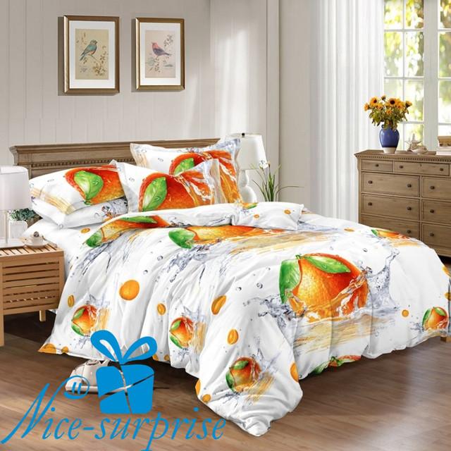 купить полутороспальное постельное белье из сатина в Одессе