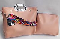 Женская сумка 2в1 903 Розовый Женские сумки, большой выбор, продажа женских сумок Одесса 7 км