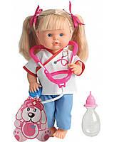 Говорящая кукла Нена доктор 36 см Bambolina BD382-50SKDRU, фото 1