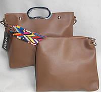 Женская сумка 2в1 903 brown Женские сумки, большой выбор, продажа женских сумок Одесса 7 км