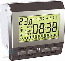 Терморегулятор многофункциональный Алюминий Unica Schneider, MGU3.505.30