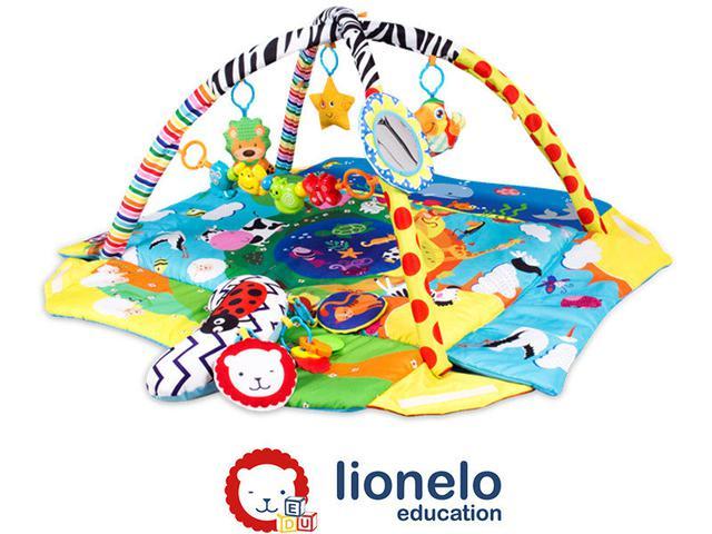 Развивающие коврики Lionelo