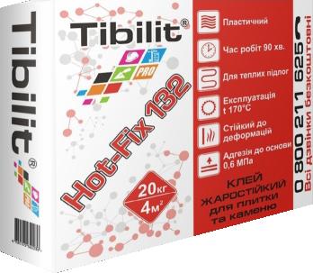 Клейова суміш для плитки та каменю Tibilit Hot-Fix 132