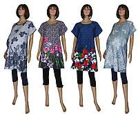 Туника - блузка летняя для беременных 03125 Kvitka, хлопок, р.р.50-66