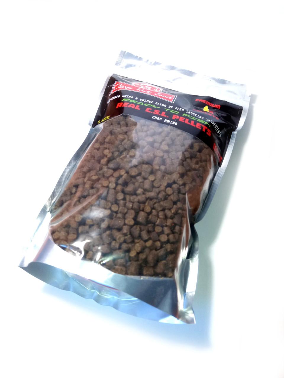 Карповый амино пеллетс Carp Tasty Food 6/4mm микс  400г