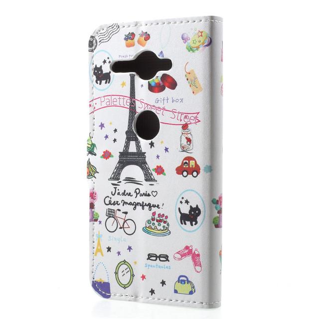чохол книжка Sony Xperia XZ2 Compact sweet street