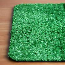 Зеленая декоративная искусственная травка ковролин для интерьера, декора, басейна, ландшафта, фото 3