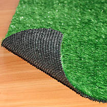 Зеленая декоративная искусственная травка ковролин для интерьера, декора, басейна, ландшафта, фото 2