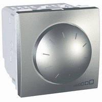 Диммер поворотно-нажимной для флуоресцентных ламп, 1-10В 400 Вт 2-мод. Графит Unica Schneider, MGU3.510.12
