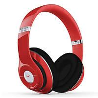Стерео-гарнитура Headphone Bluetooth Stereo Beat TM-010S Red