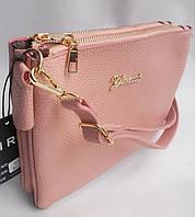 Женский клатч 820 Розовый Клатчи женские через плечо, женские клатчи и сумки