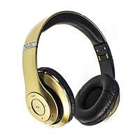 Стерео-гарнитура Headphone Bluetooth Stereo Beat TM-010S Gold