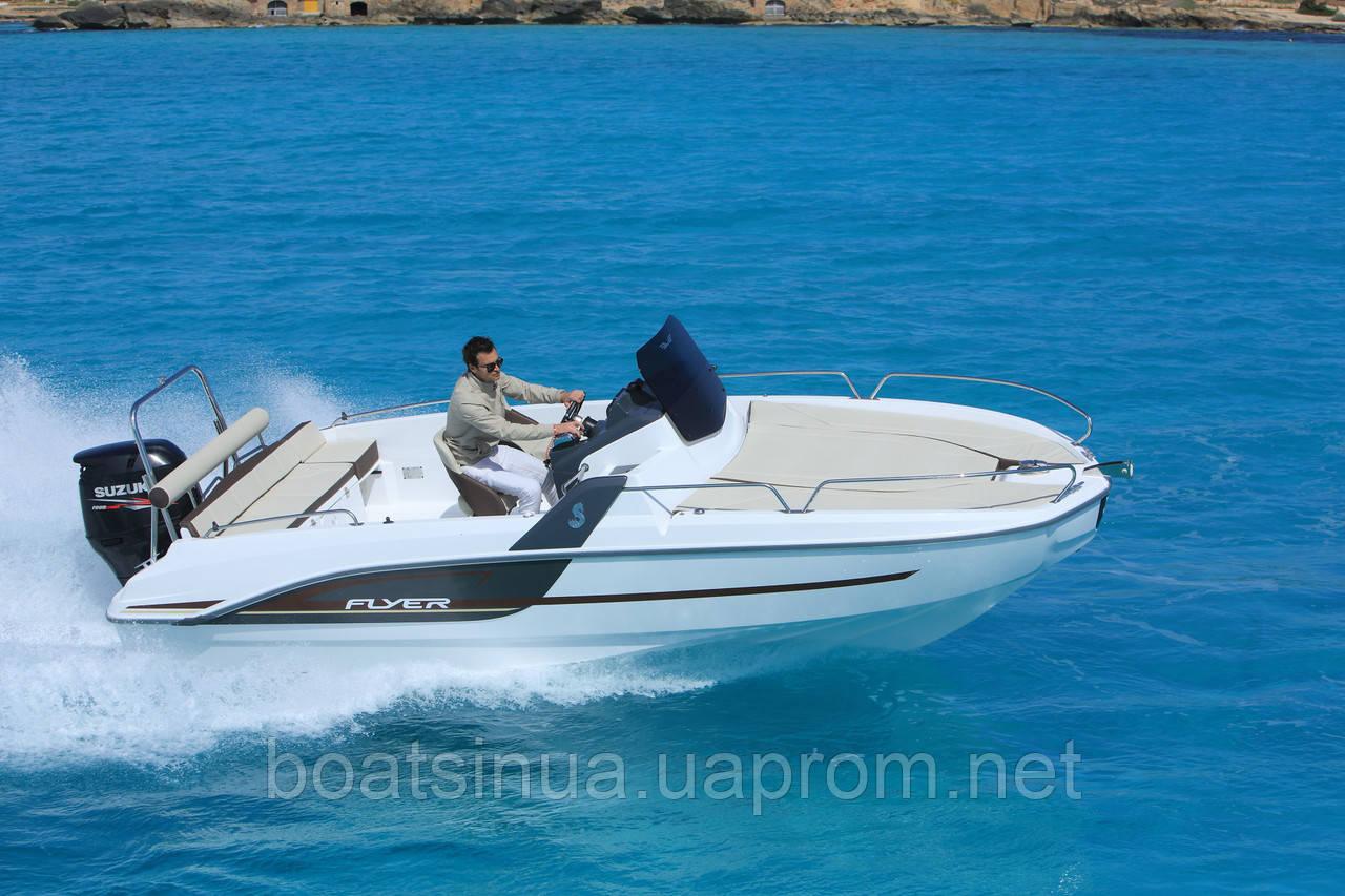 Моторный катер FLYER 6.6 SUN deck