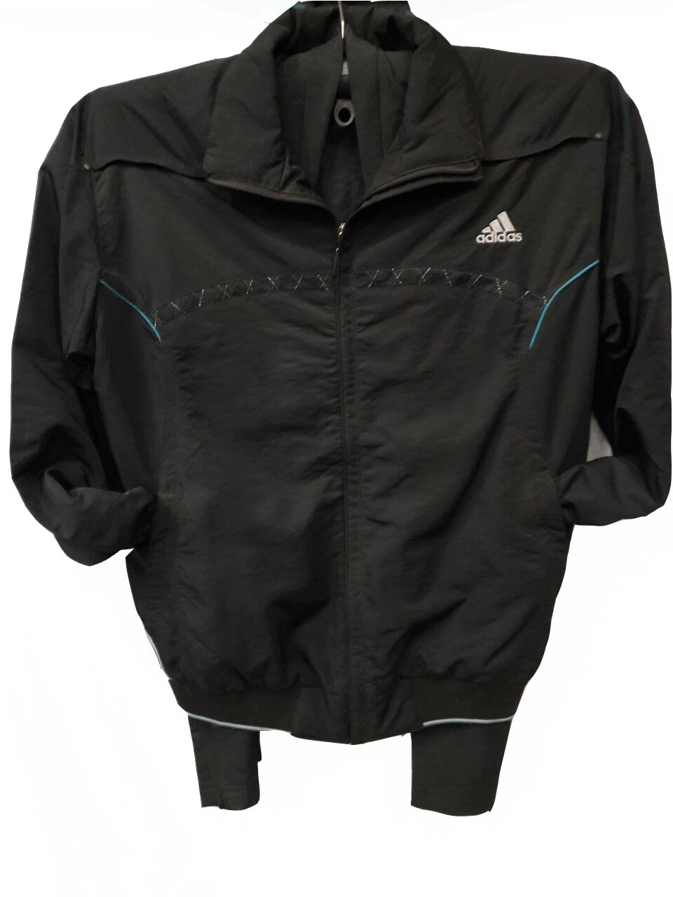 Костюм мужской спортивный Adidas черный без лампасов
