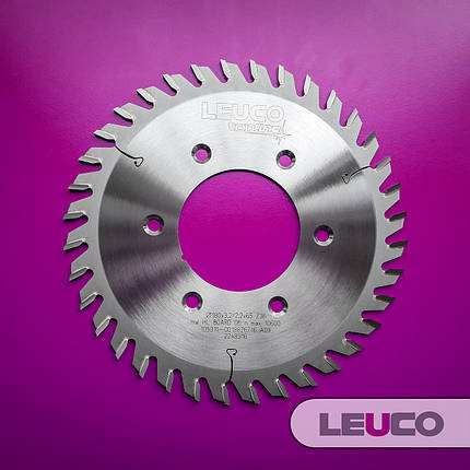 Подрезные дисковые пилы Leuco для дробителей и фланца 180х3,2х2,2х65, Z=36, фото 2